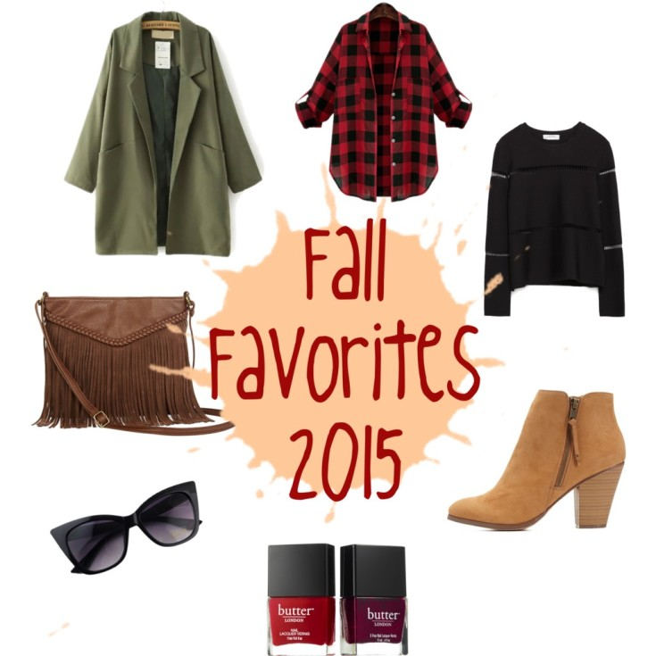Fall Favorites 2015